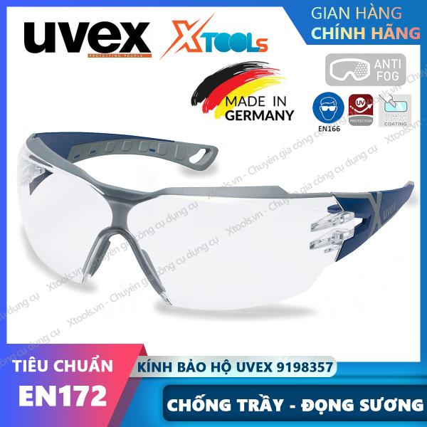 Giá bán Kính bảo hộ UVEX PHEOS CX2 9198257 kính chống bụi, chống hơi nước trầy xước vượt trội, ngăn chặn tia UV, mắt kính đi xe [XTOOLs][XSAFE]