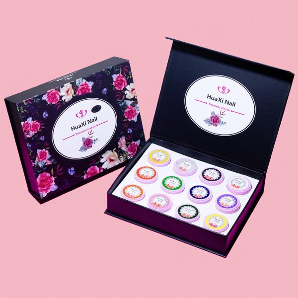 Set gel vẽ Huaxi chính hãng - Gel vẽ nổi chất đậm đặc 12 màu chuyên dụng giá rẻ