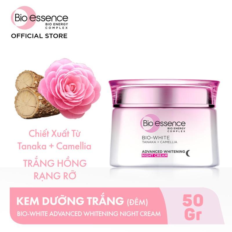 Kem Dưỡng Trắng Chuyên Sâu Ban Đêm Chiết Xuất Tanaka và Camellia Bio-essence 50g giá rẻ