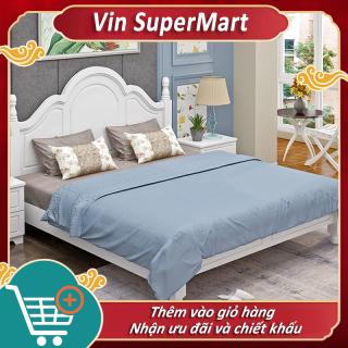 [Trả góp 0%] giường đôi giường công chúa 1.8m kiểu dáng đơn giản bán cổ điển thanh lịch thumbnail