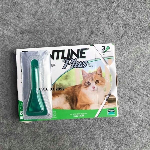 Nhỏ gáy trị ve rận chó mèo(Mèo 1 ống)
