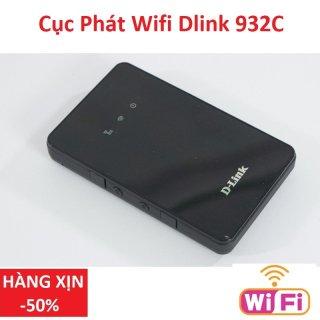 Cục phát wifi 4G- Bộ phát sóng wifi di động từ sim điện thoại- TỐC ĐỘ CỰC MẠNH chuẩn 4G LTE- DLINK 932C 4G công nghệ đời mới- MODEM khủng cày game, xem phim cực chất thumbnail