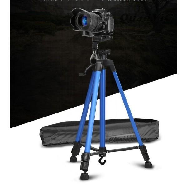 Chân giá đỡ điện thoại, máy ảnh Tripod 3366 cao 150cm có tay cầm cực chắc chắn