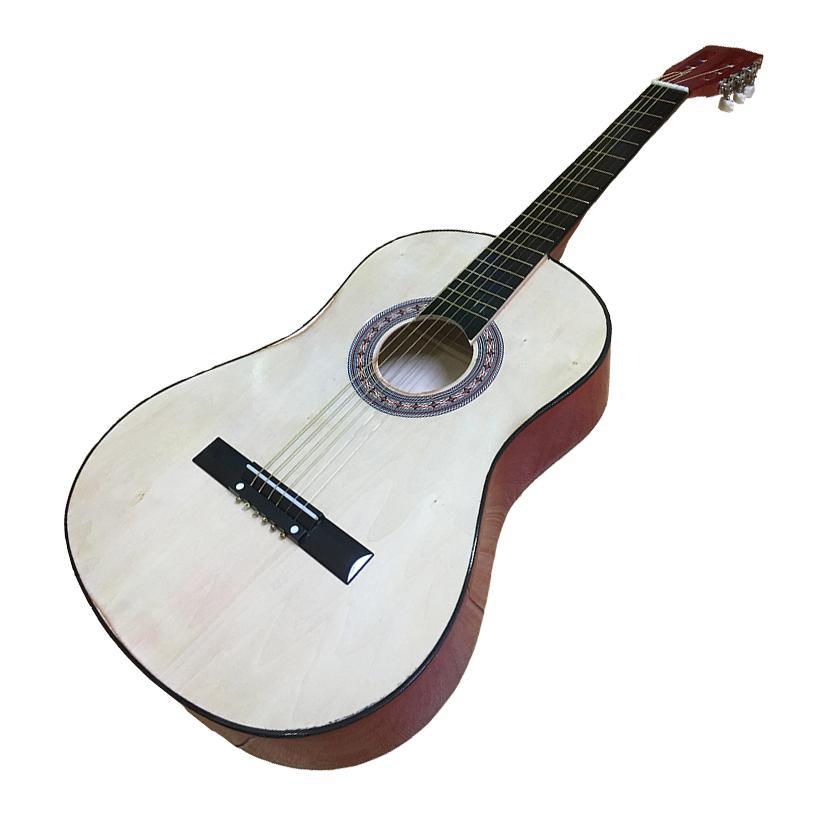 Đàn Guitar Acoustic GU04 Gỗ Anh Đào Dáng D - Hàng có sẵn