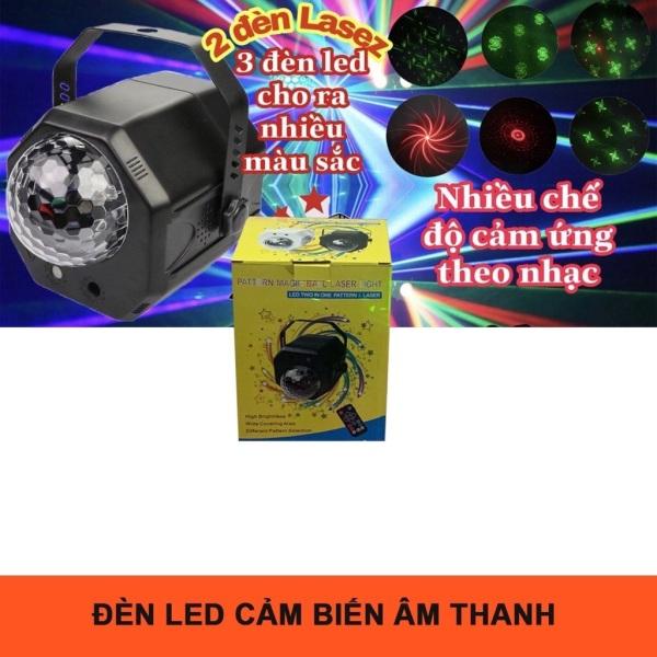 Đèn Sân Khấu 7 Màu 2in1 Cảm Ứng Theo Nhạc Dùng Cho Karaoke Bar Mini Phòng Bay - Đèn Sân Khấu Tphcm