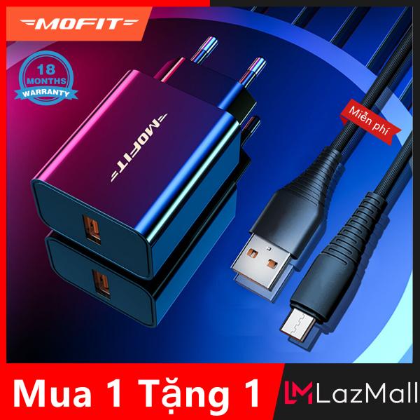 [Mua 1 Tặng 1]MOFIT MQ10 - Sạc nhanh 3.0 USB Wall Charger Sạc nhanh - Hitam