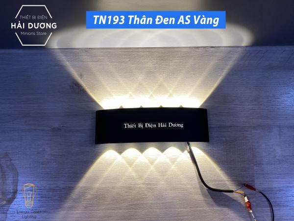 Bảng giá Đèn trang trí hắt tường 2 đầu TN190 - 12w TN193 -10W chống nước TN190 (Đen/Trắng). Thiết kế sang trọng, hiện đại, thích hợp với nhiều không gian và phong cách nội thất.