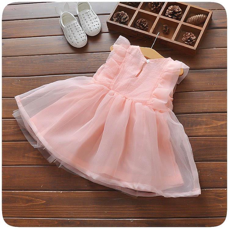 Giá bán 5 6 Tháng Bé Gái Trẻ Em Váy Liền 0-1-2-3-4 Tuổi Bé Gái Mùa Hè 100% Cotton Váy Công Chúa Mùa Hè Quần Áo