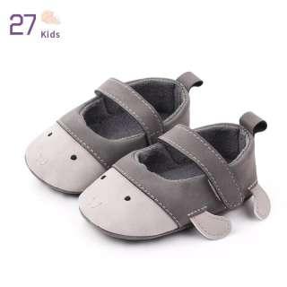 27 Trẻ Em Trẻ Sơ Sinh Trẻ Mới Biết Đi Giày Đế Mềm PU Nhân Tạo Cho Bé Trai Bé Gái, Khung Tập Đi Chống Trượt