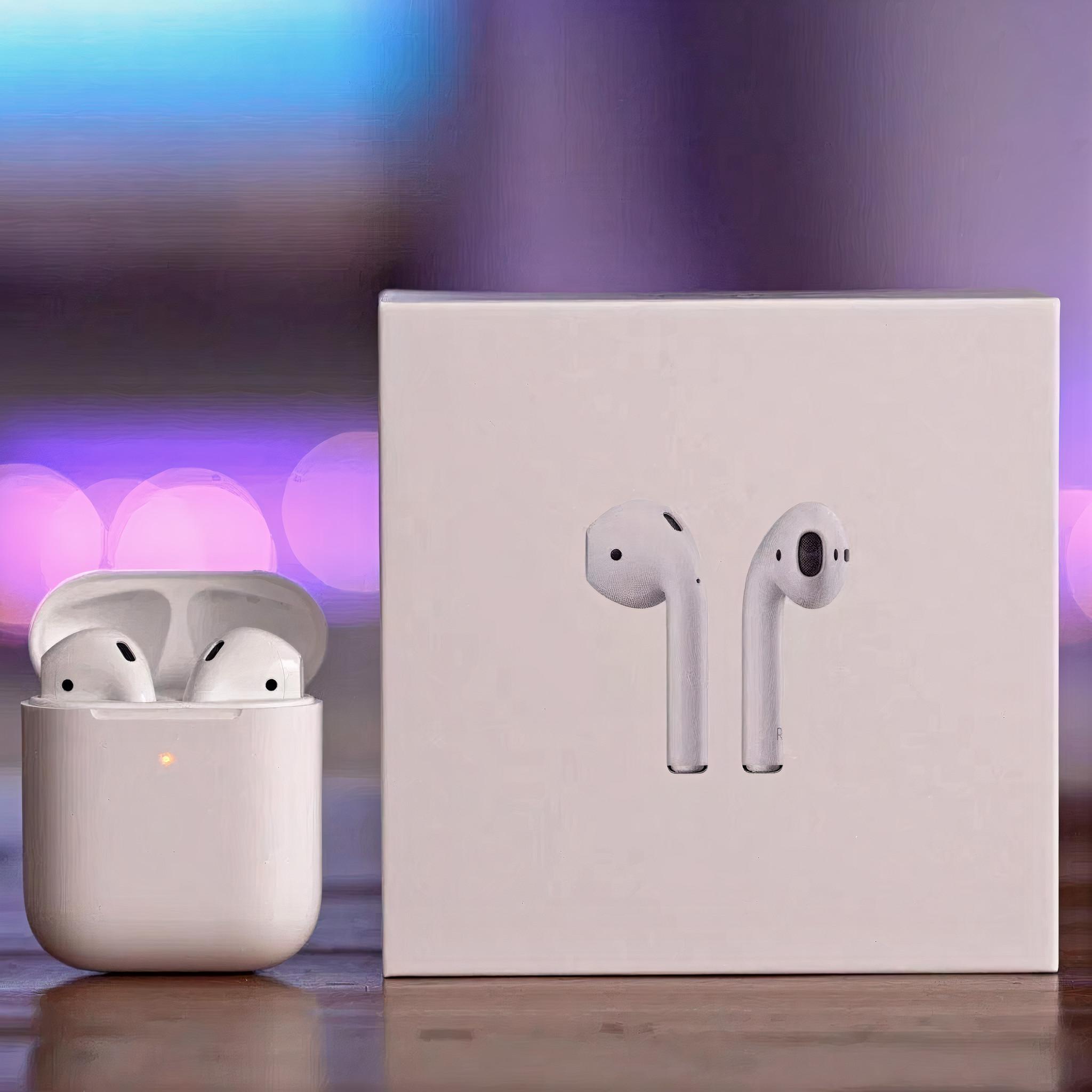 Tai Nghe Bluetooth AIRPODS 2 Bản Cao Cấp Định Vị Đổi Tên Bản Full Chức Năng Dùng Cho IOS và Android Bảo Hành 6 Tháng