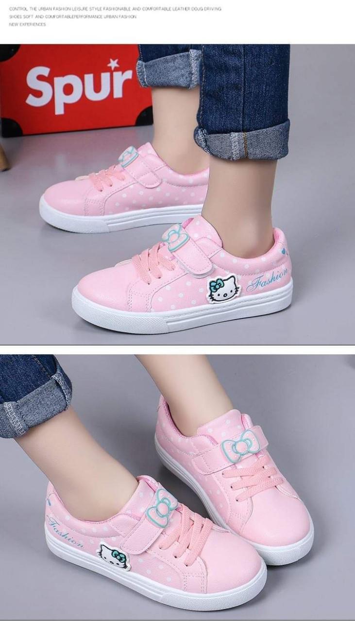 Giày bata kitty xinh xắn cho các bé gái
