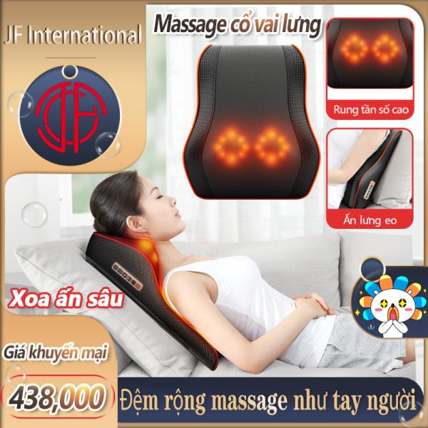 Gối massage vai gáy toàn thân đa năng cao cấp,Máy massage vai gáy BENBO , gối mát xa vai gáy toàn thân đa năng  Thiết bị massage lưng