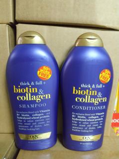 [ Biotin Collagen ] Dầu Gội Biotin Collagen [Hàng Chính Hãng] Chống Rụng Tóc Và Kích Thích Mọc Tóc Nhanh, Hương Thơm Dịu, 577ml thumbnail