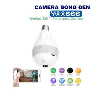 [ Mẫu 2020 Nhiều Tính Năng ] Camera Bóng Đèn Yoosee, Camera Bóng Đèn Có Hồng Ngoại IP Yoosee Chống Trộm Bóng Đèn Full HD 1080P Quay Cả Ngày Lẫn Đêm, Cho Chất Lượng Hình Ảnh Siêu Nét, Bảo Hành 1 Đổi 1 thumbnail