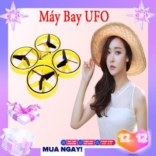Máy Bay Fly Cam Drone UFO Máy Bay Cảm Ứng , Máy Bay Phản Lực, Điều Khiển Cảm Biến Cử Chỉ Tay, Tự Động Tránh Vật Cản, Nhào Lộn 360 Độ,Máy Bay Điều Khiển Từ Xa,Máy Bay Điều Khiển Từ Xa 4 Cánh. Có Đèn. Dễ Dàng Sử Dụng thumbnail