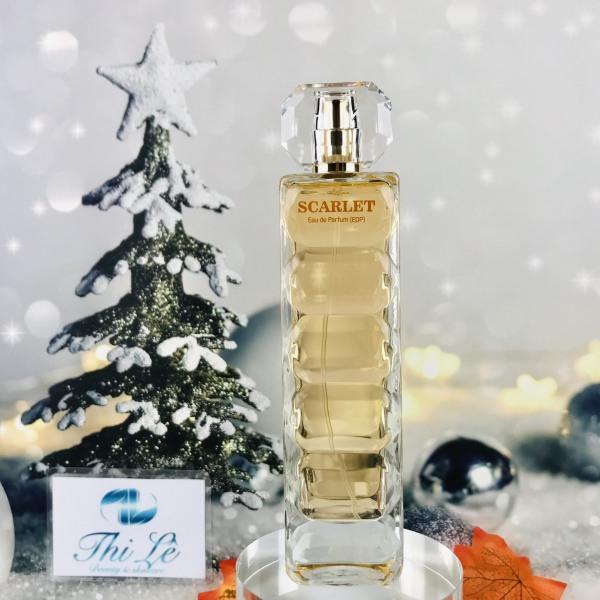 Nước hoa Singgapore nữ Scarlet Eau De Farfum  - Jolie Dion (Eau De Parfum EDP 80ml)