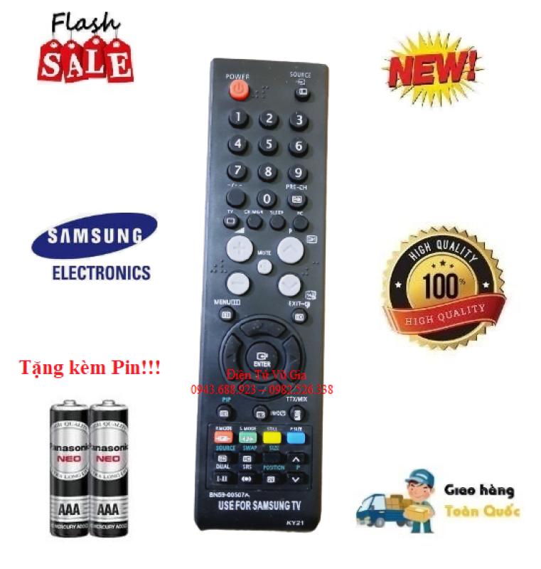Bảng giá Remote Điều khiển tivi Samsung BN59-00507A các dòng TV LCD/LED Smart- Hàng loại tốt tặng kèm Pin!!!
