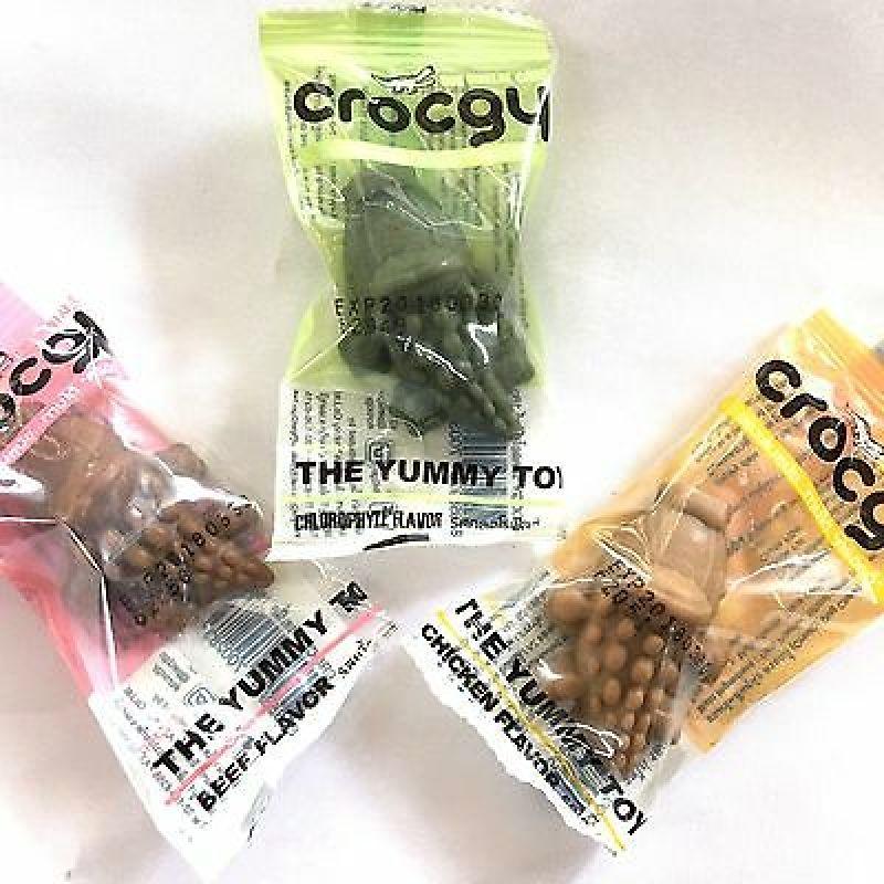 Bánh mài răng  Crocgy -hình cá sấu -chính hãng Thái Lan cho chó mèo - hamster