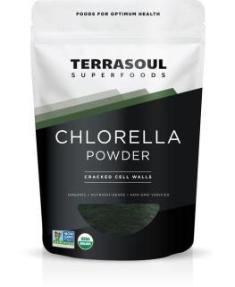 bột tảo Chlorella hữu cơ (Chlorella Powder) - Terrasoul - 170g thumbnail
