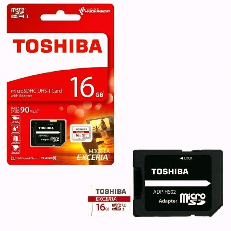 Thẻ Nhớ Micro SD Toshiba 16G Class 10 40MB Box Đỏ