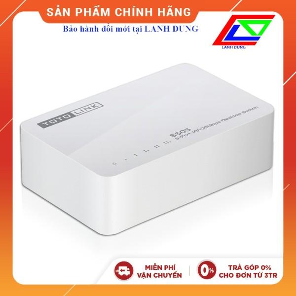 Bảng giá Swicth Totolink S505 (chính hãng - BH đổi mới tại Lanh Dung) Phong Vũ