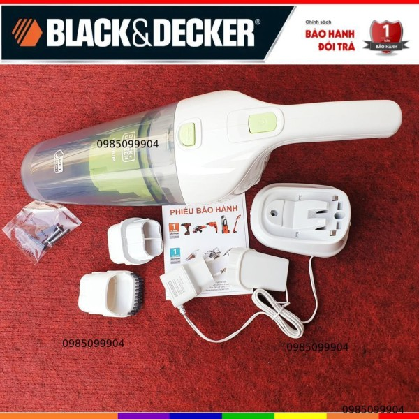 Máy hút bụi cầm tay dùng pin Black and Decker dùng pin 7.2v Black & Decker WD7201G-B1 / WD7201G-B1 / WD7201B-B1