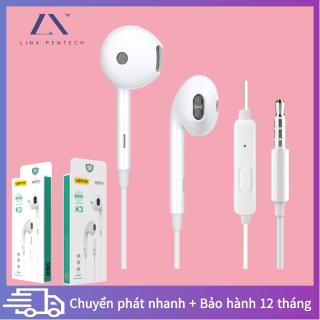 Tai nghe siêu trầm trong tai, Nút tai nghe nhạc chơi game có dây điều khiển bằng dây, Tai nghe điện thoại di động giá rẻ thumbnail