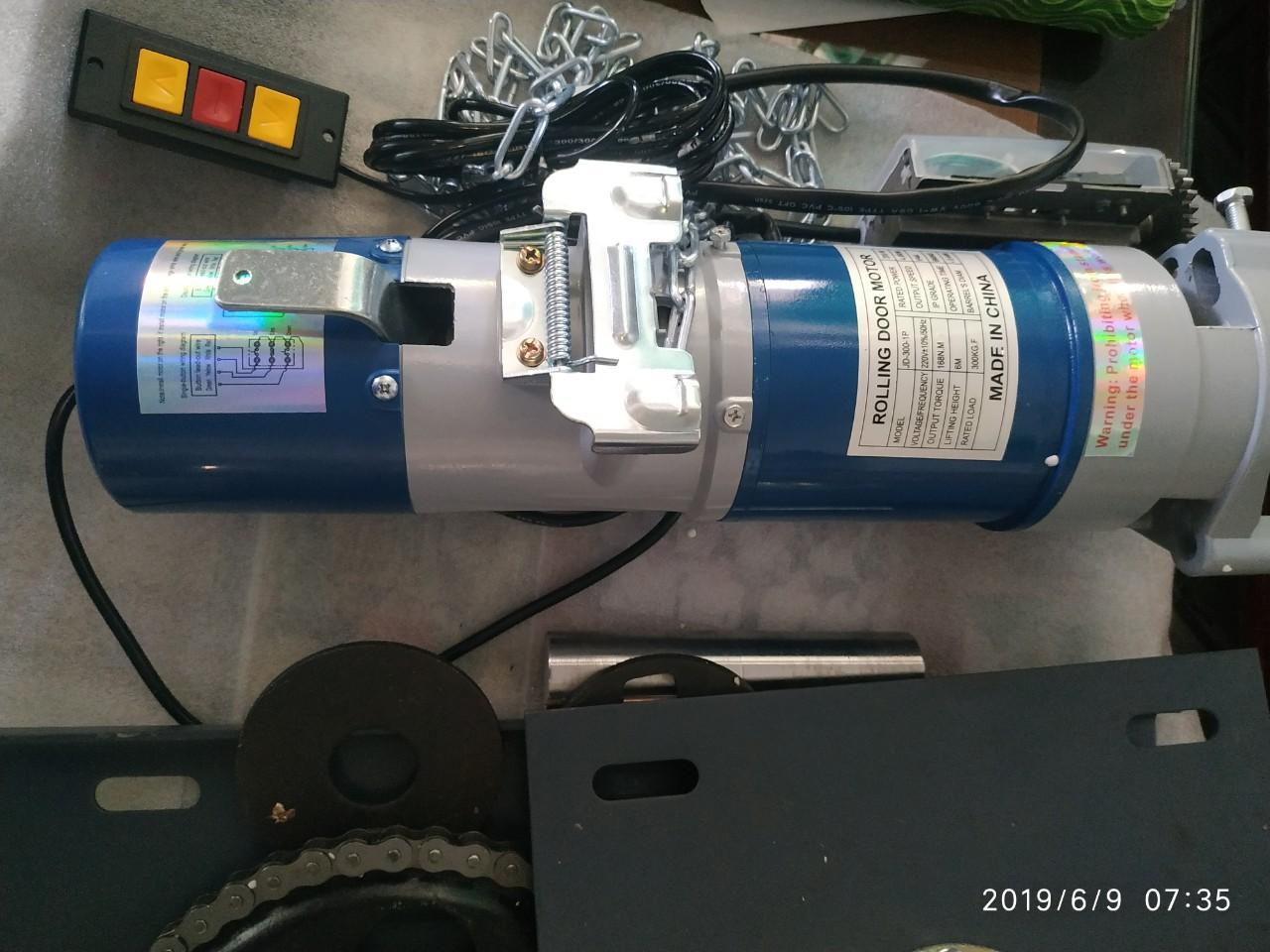 Mô tơ cửa cuốn AC300 Rolling door motor