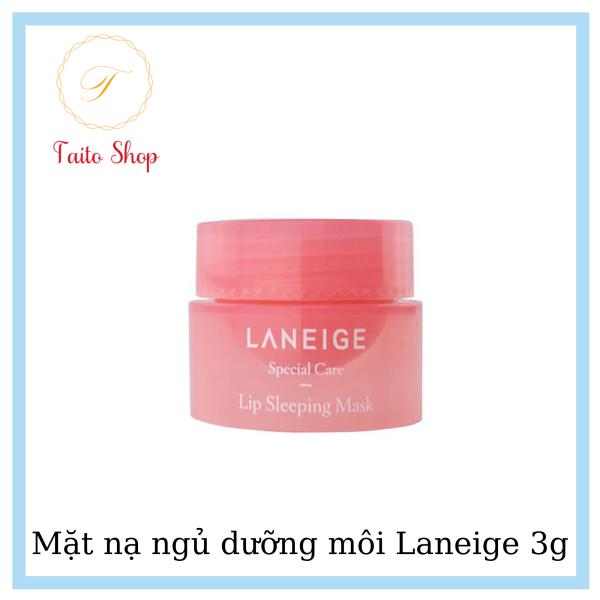 Mặt nạ ngủ dưỡng môi Laneige 3g - Mặt nạ ngủ dưỡng hồng môi, mềm môi(hồng)