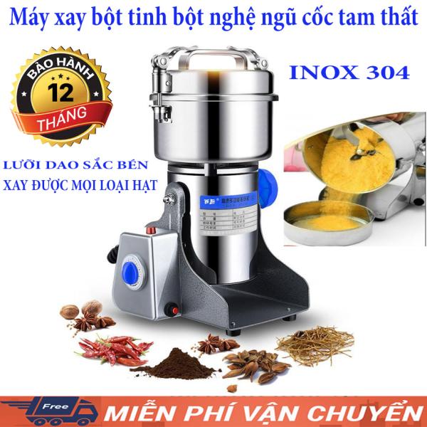 Máy Xay Bột Khô Đa Năng Siêu Mịn-INOX 301- kèm quà tặng