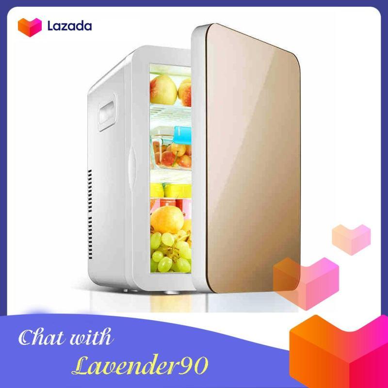 Tủ lạnh mini 2 chiều dung tích thực tế 20L sử dụng nguồn 12 V trên ô tô và nguồn điện lưới 220V - Tủ lạnh trên ô tô - Tủ lạnh 2 chiều - Tủ lạnh để mỹ phẩm