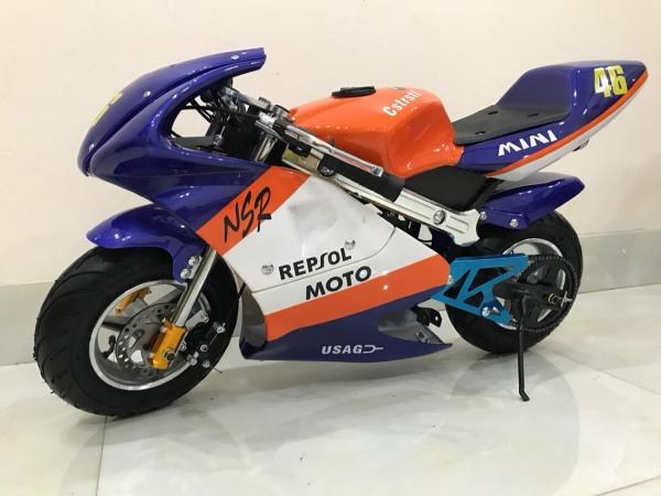 Phân phối Xe moto mini 50cc - xe ruồi - xe tam mao - mẫu xe mẫu mới 2 thì pô kiêu như xipo