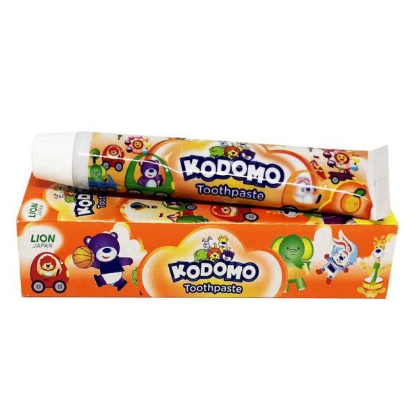 Kem đánh răng trẻ em KODOMO Nhật Bản 45g - Hương Cam giá rẻ