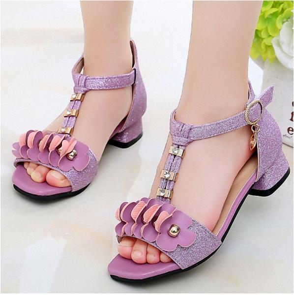 sandal bé gái phong cách hàn quốc sezi 27 đến 37 - SA051