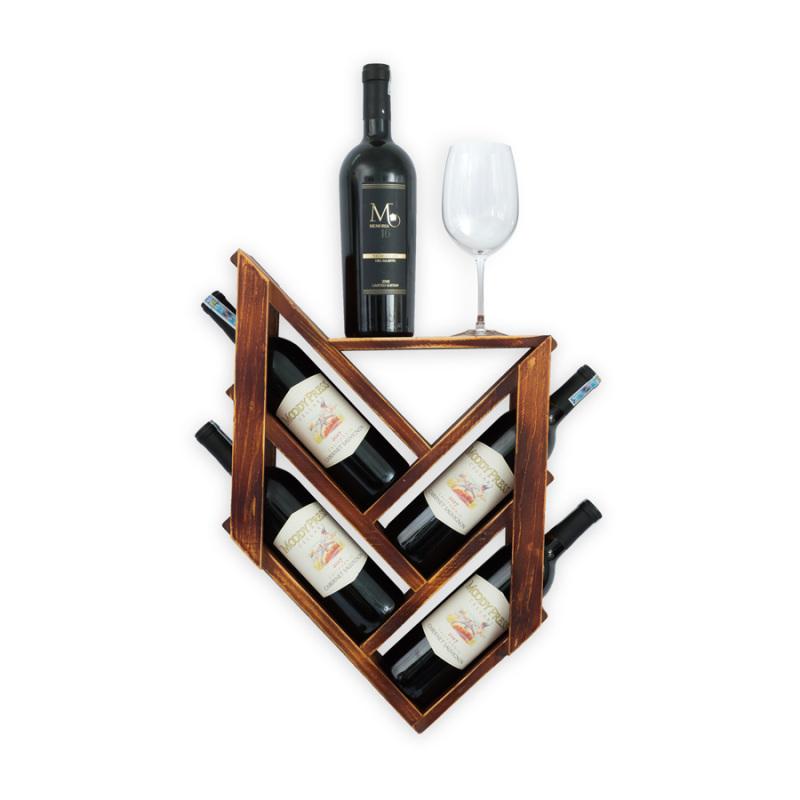 Kệ Rượu Treo Tường KR09