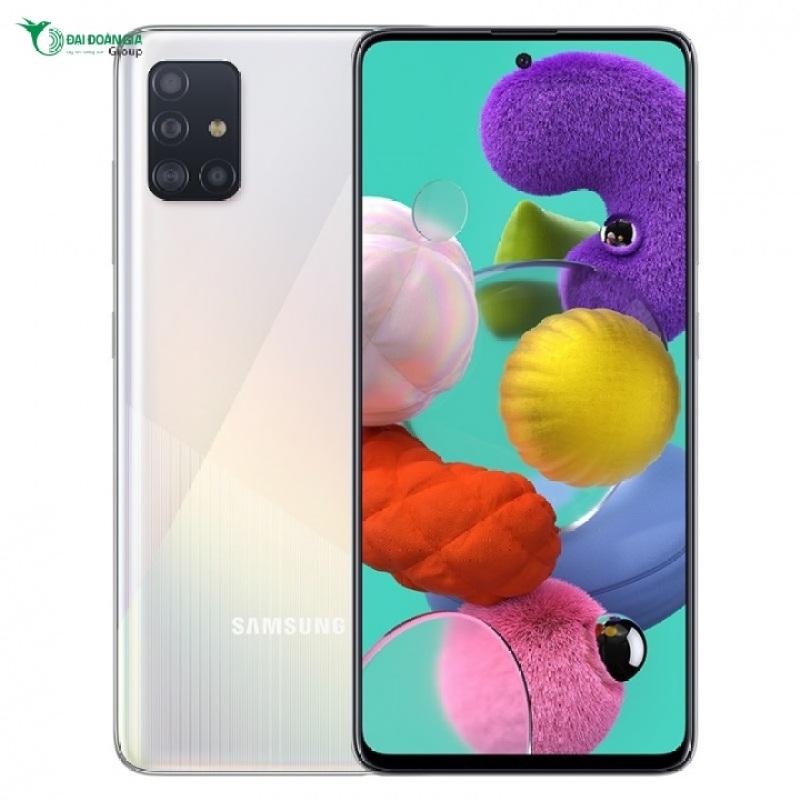 Điện thoại Samsung Galaxy A51 |  Camera chính điện thoại có 48MP, đi kèm là camera Ultrawide 12MP, camera tele 12MP và một cảm biến độ sâu 5MP giúp thiết bị này trở nên nổi bật và độc đáo hơn hẳn |