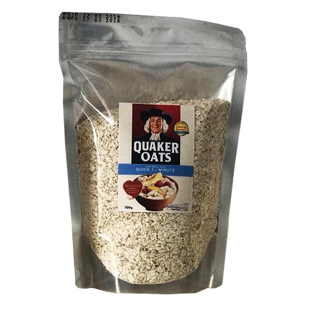Voucher Khuyến Mại Yến Mạch Quaker Oats Quick 1 Minute 100% USA 500g (Chính Hãng)