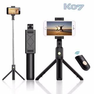 Gậy Chụp Ảnh Tự Sướng Bluetooth kiêm 3 Chân Đa Năng Live Stream Chụp Ảnh Gia Đình Chụp Hình Selfie thumbnail