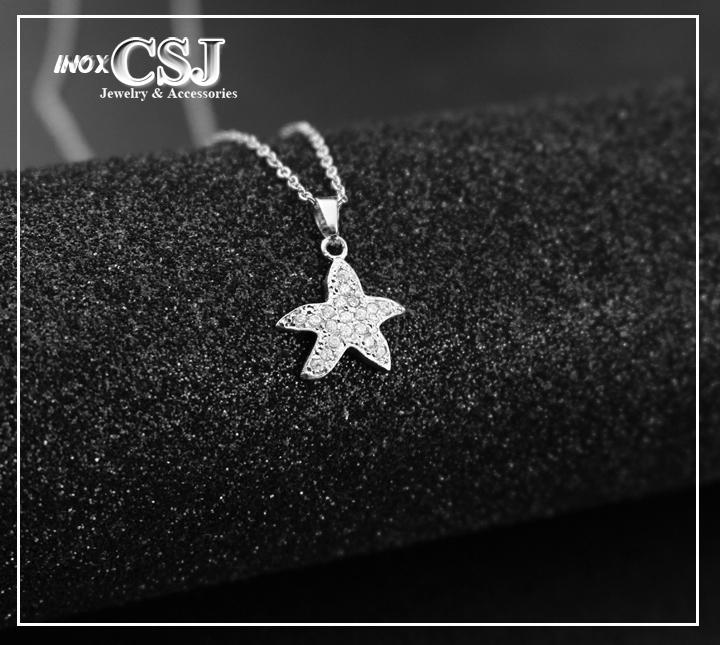 Dây chuyền nữ ngôi sao đính hạt kim cương