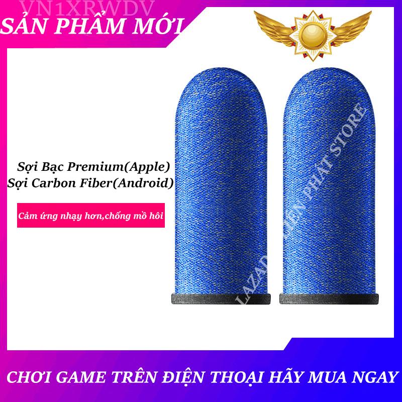 [HCM]Bao Tay chơi game Mobile đỉnh sợi bạc Premium nút chơi game thê hệ mới.