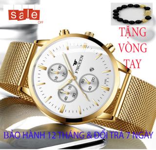 Đồng hồ nam FNGEEN M5 [TẶNG VÒNG TAY] [Liên quan cao cấp - đeo tay nam - đồng hồ đẹp - đồng hồ đôi - dây da - dong ho thuy sy giá rẻ đồng hồ cơ - vòng tay nam đẹp - đồng hồ thông minh - dây thép - quai thép - dây lưới] thumbnail