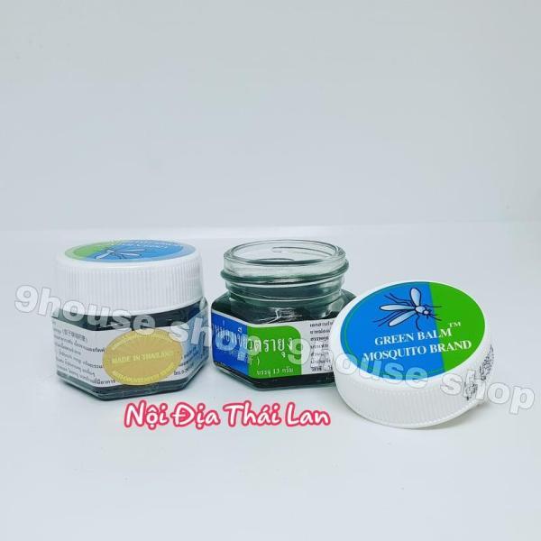01 Dầu Cù Là Muỗi Và Côn Trùng Cắn Mosquito Green Balm (Nội địa Thái) nhập khẩu