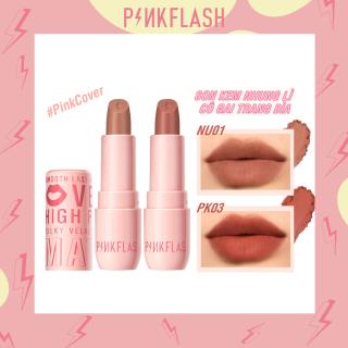 Son lì dạng kem Pinkflash nhiều màu sắc chất son mềm mịn - 30g thumbnail