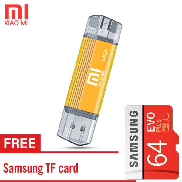Giá Xiaomi Flash USB OTG USB 3.0 Ổ Đĩa Bút Mini 64GB Micro USB Stick  Ổ Đĩa Cho Thiết Bị Android với thẻ nhớ Samsung miễn phí
