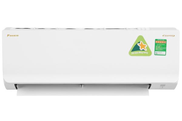 [HCM][Trả góp 0%]Máy lạnh Daikin Inverter 1.5 HP ATKA35UAVMV Mới 2020. Tiện ích:Chế độ chỉ sử dụng quạt - không làm lạnh Chức năng hút ẩm Thổi gió dễ chịu (cho trẻ em người già) Hẹn giờ bật tắt máy Làm lạnh nhanh tức thì