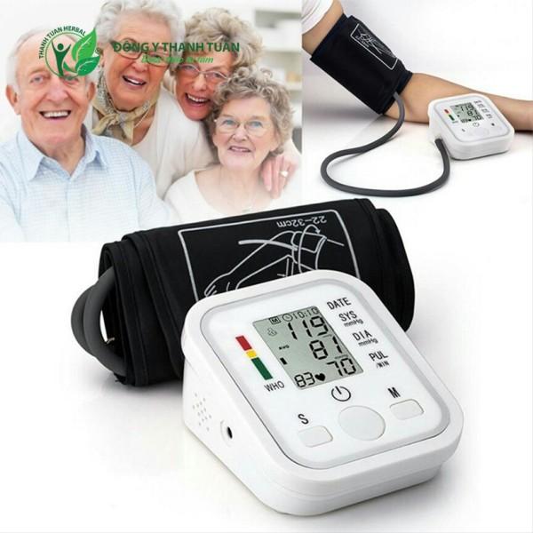 Nơi bán Máy Đo Huyết Áp Nhật Loại Tốt - Máy đo huyết áp Omron HEM MÁY ĐO HUYẾT ÁP ARM STYLE - Máy đo huyết áp nhịp tim tự động chuẩn xác nhanh chóng Tự động bơm và xả thông minh
