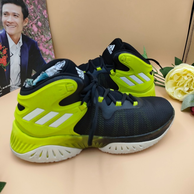 GIÀY THỂ THAO BÓNG RỔ 2HAND AUTH  A.DI.DAS EXPLOSIVE BOUNCE BY3789 SIZE 42 giá rẻ