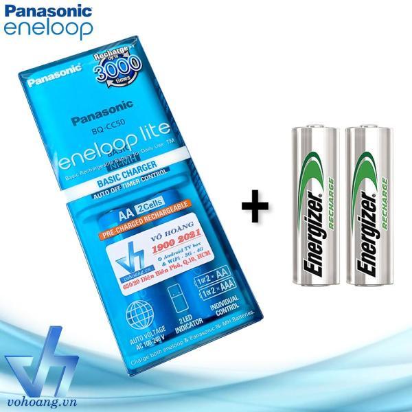 Giá Sạc pin Panasonic Eneloop Lite kèm sẵn 2+2 pin AA