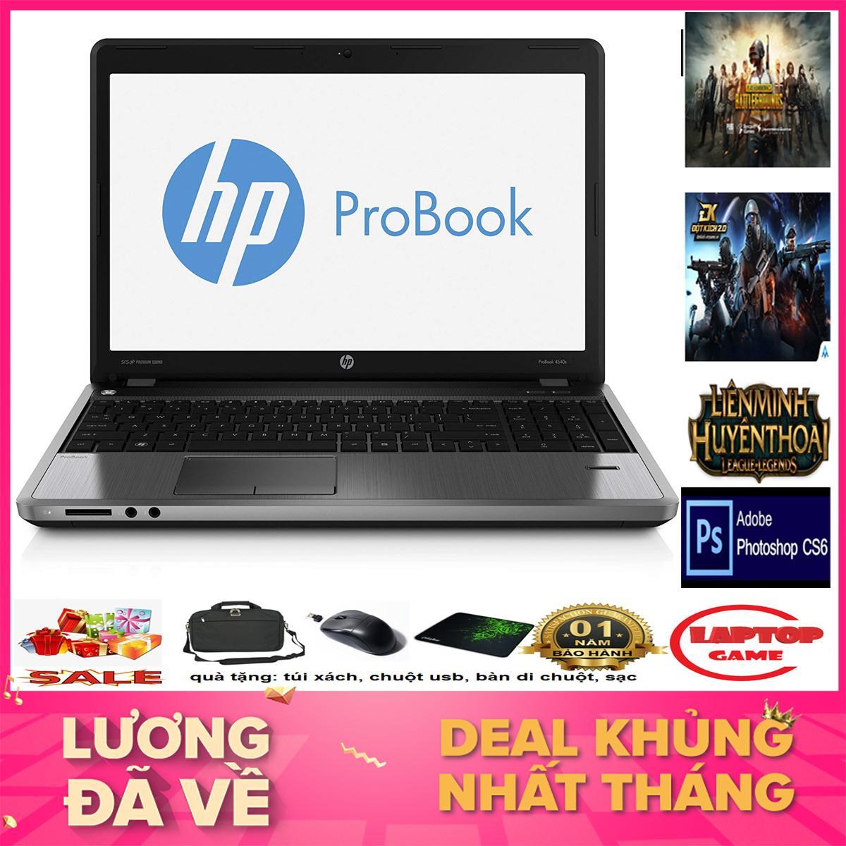Laptop Chơi Game Và Đồ Họa Sang Trọng- HP Probook 4540S ( i5-3230M,Ram 4GB, 250GB, VGA on Intel HD 4000, màn 15.6″ HD LED)