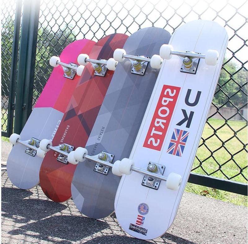 Giá bán Ván Trượt Skateboard Thể Thao Chất Liệu Gỗ Phong Ép Cao Cấp 7 Lớp Mặt Nhám
